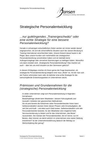 Strategische Personalentwicklung.pdf - Jansen Beratung & Training ...