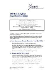 Märchen-Kommunikation.pdf - Jansen Beratung & Training ...