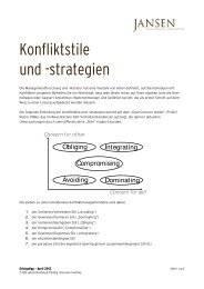 Erfolgstipp 04_2012 - Konfliktstil-1 - Jansen Beratung & Training ...