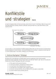 Erfolgstipp 05_2012 - Konfliktstil-2 - Jansen Beratung & Training ...