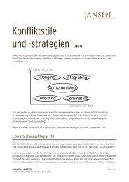 Erfolgstipp 07_2012 - Konfliktstil-4 - Jansen Beratung & Training ...