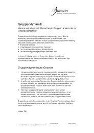 Erfolgstip des Monats 1999-07 - Gruppendynamik.pdf - Jansen ...