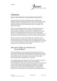 Erfolgstip des Monats 2005-10 - Charisma.pdf - Jansen Beratung ...