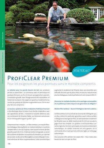 ProfiClear Premium - Jcb aquatique paysage