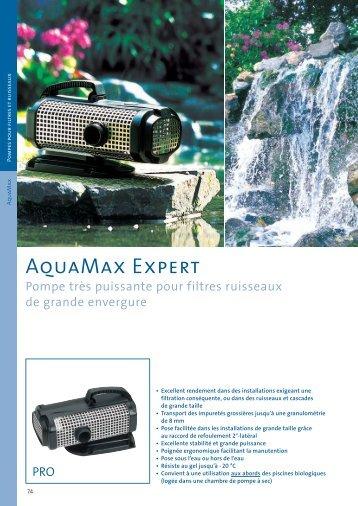 AquaMax Expert - Jcb aquatique paysage