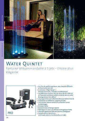 Water Quintet - Jcb aquatique paysage