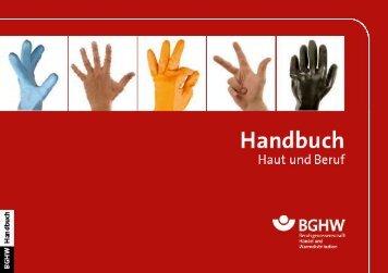 Handbuch Haut und Beruf - Berufsgenossenschaft Handel und ...