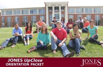 JONES UpClose - Jones County Junior College