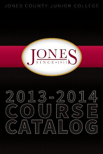 College Catalog - Jones County Junior College