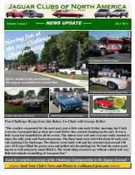 July 2011 - Jaguar Clubs of North America