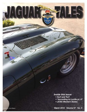 March - Jaguar Clubs of North America