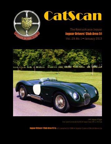 CatScan 2010-11 - Jaguar Clubs of North America