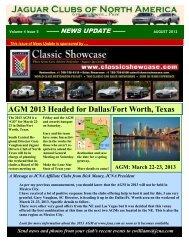 August 2012 - Jaguar Clubs of North America