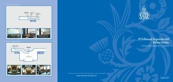 El Tribunal Supremo del Reino Unido Guía del visitante y plano ...
