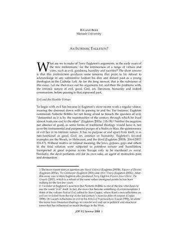 the seduction of unreason essay