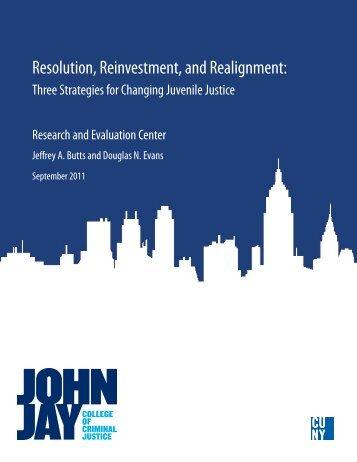 Resolution Reinvestment Realignment to Change ... - JDAI Helpdesk