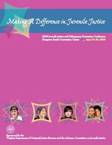 Making A Difference in Juvenile Justice - JDAI Helpdesk