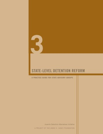 State-Level Detention Reform - The Coalition for Juvenile Justice
