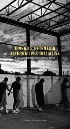 juvenile detention alternatives initiative - Annie E. Casey Foundation