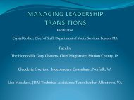 Managing Leadership Transitions (2012 ... - JDAI Helpdesk