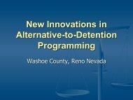 New Innovations in Alternative-to-Detention ... - JDAI Helpdesk