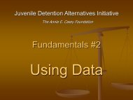 Fundamentals 2 Using Data (2007 Conference) - JDAI Helpdesk