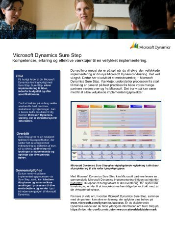 microsoft dynamics sure step methodology pdf