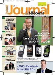 version basse définition - Le Journal Des Télécoms