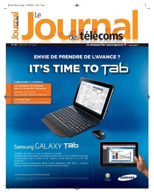 Projet1:Mise en page 1 29/09/2011 16:51 Page 1 - Le Journal Des ...