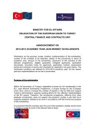 Announcement - Jean Monnet