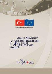 JEAN MONNET BURS PROGRAMI - Avrupa Birliği Bakanlığı