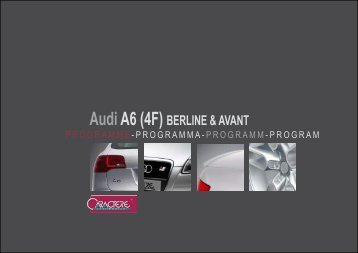 AudiA6 (4F) BERLINE & AVANT - Jec Import SA