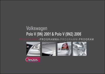 flyer polo v 9n + face lift - Jec Import SA