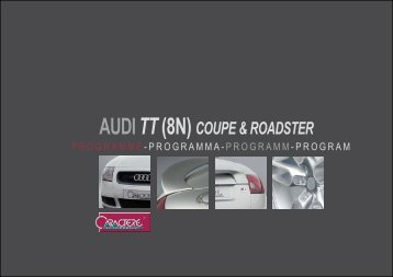 flyer tt 8n coupe + cabrio - Jec Import SA