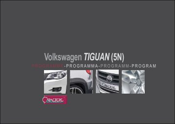 flyer tiguan - Jec Import SA