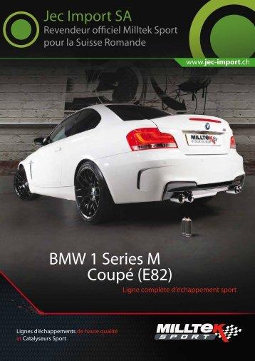 BMW 1M - Jec Import SA