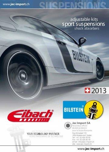 sport suspensions - Jec Import SA