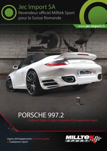 porsche 997.2 turbo - Jec Import SA