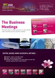 12 : The Business Meetings - JEC Group