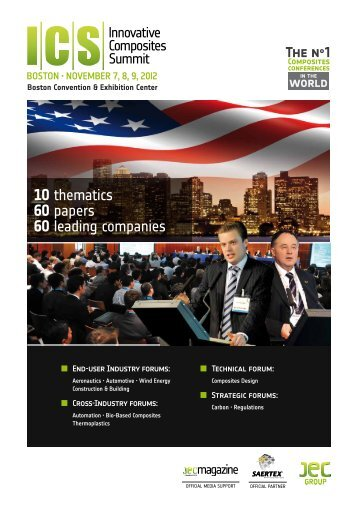 10 thematics 60 papers 60 leading companies - JEC Composites