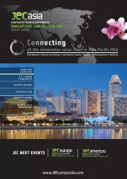 JEC Asia 2012 brochure - JEC Composites