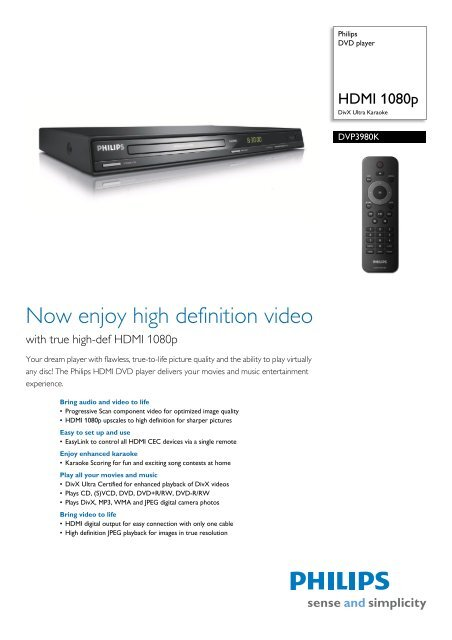 PHILIPS DVP3980K55 DVD PLAYER DRIVERS FOR MAC DOWNLOAD