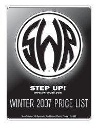 2007 SWR Pricelist - Jedistar