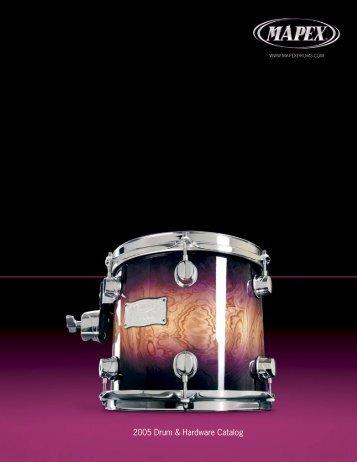 2005 Mapex catalog USA - Jedistar
