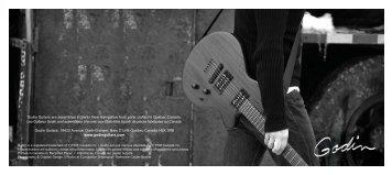 Godin Guitars are assembled in Berlin New Hampshire ... - Jedistar