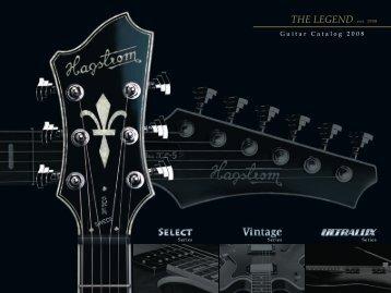 2008 Hagstrom guitar catalog - Jedistar