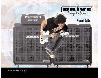 Drive Amplifier Catalog 2007 - Jedistar