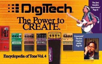 2007 Digitech Pedal Brochure - Jedistar