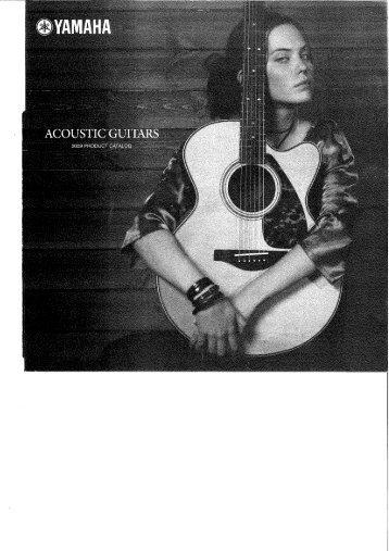 Yamaha Acoustic Guitar catalog 2009 - Jedistar