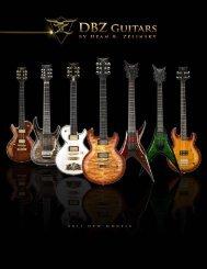 DBZ Guitars 2011 Catalog - GotoGuitars.com